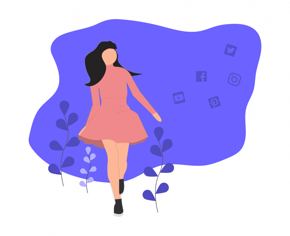 Influencer boost her popularity
